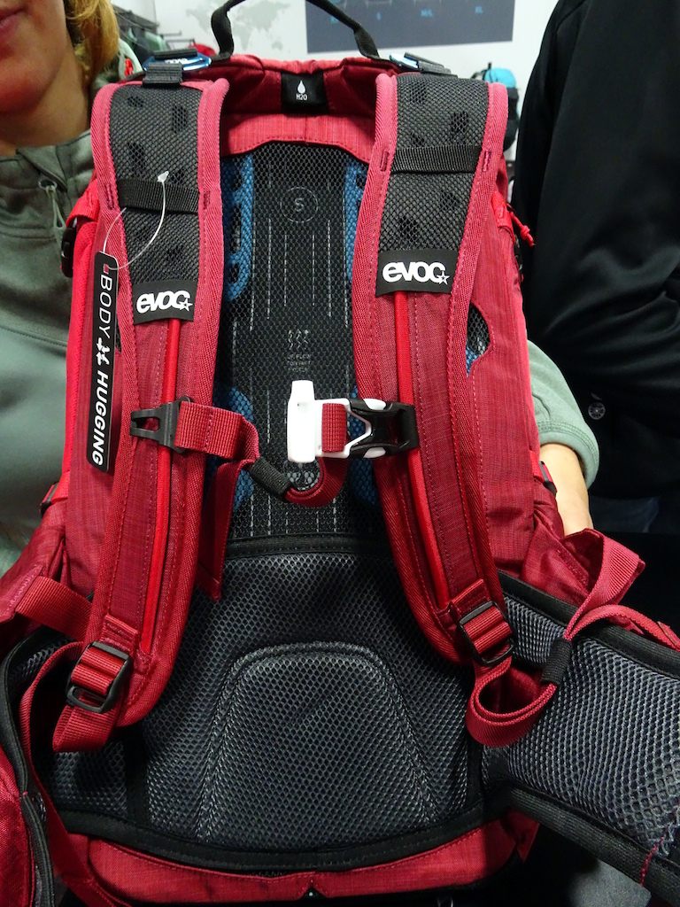 wide ventilated shoulder straps are contoured for comfort. The buckle is also a whistle.