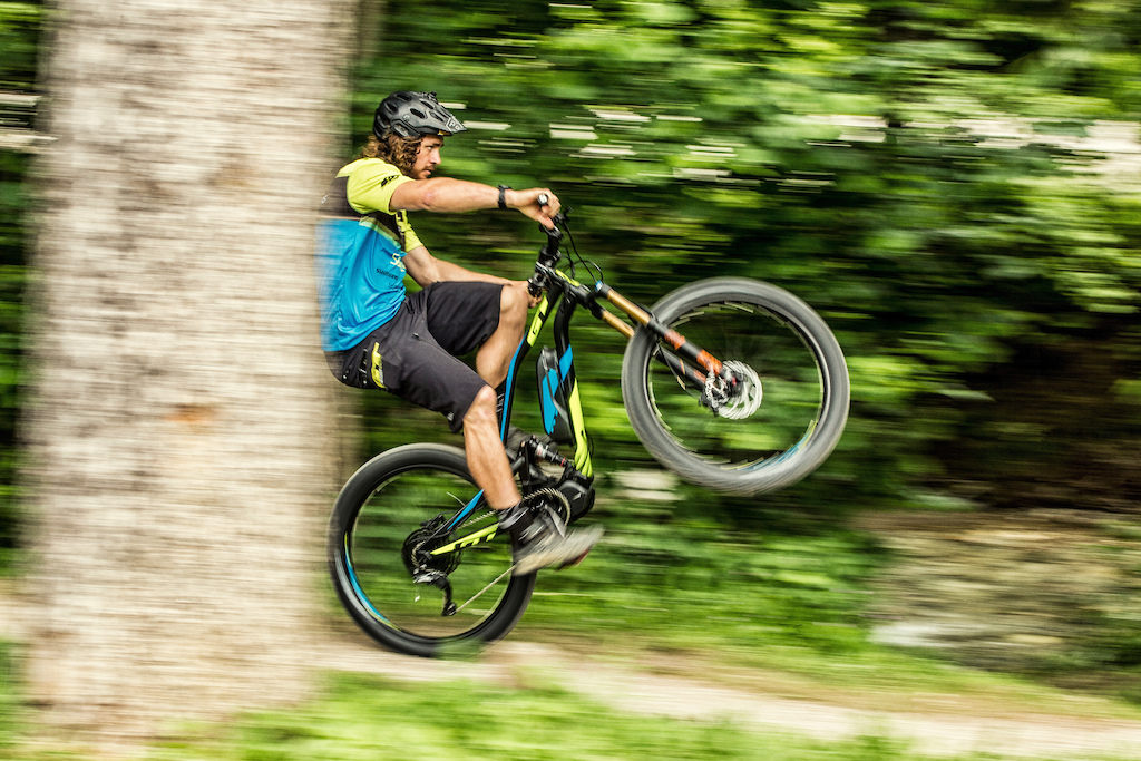 Wyn Masters Rides Leogang Up and Down