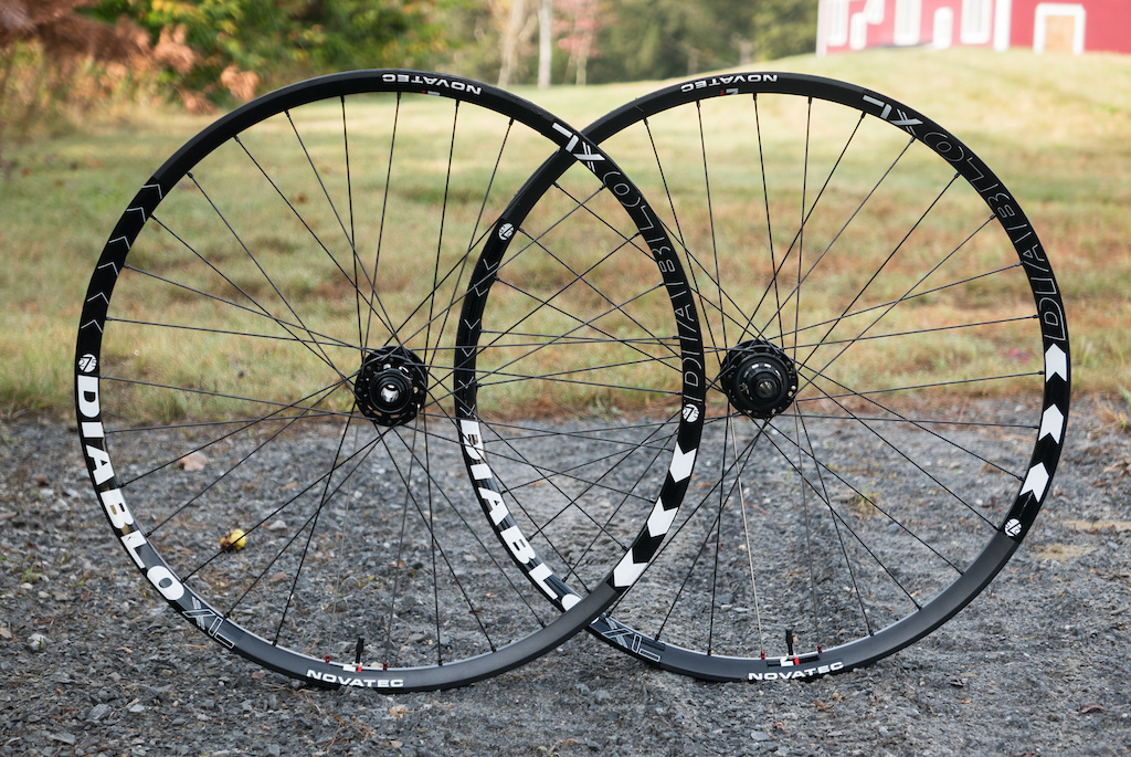 Novatec Diablo wheels