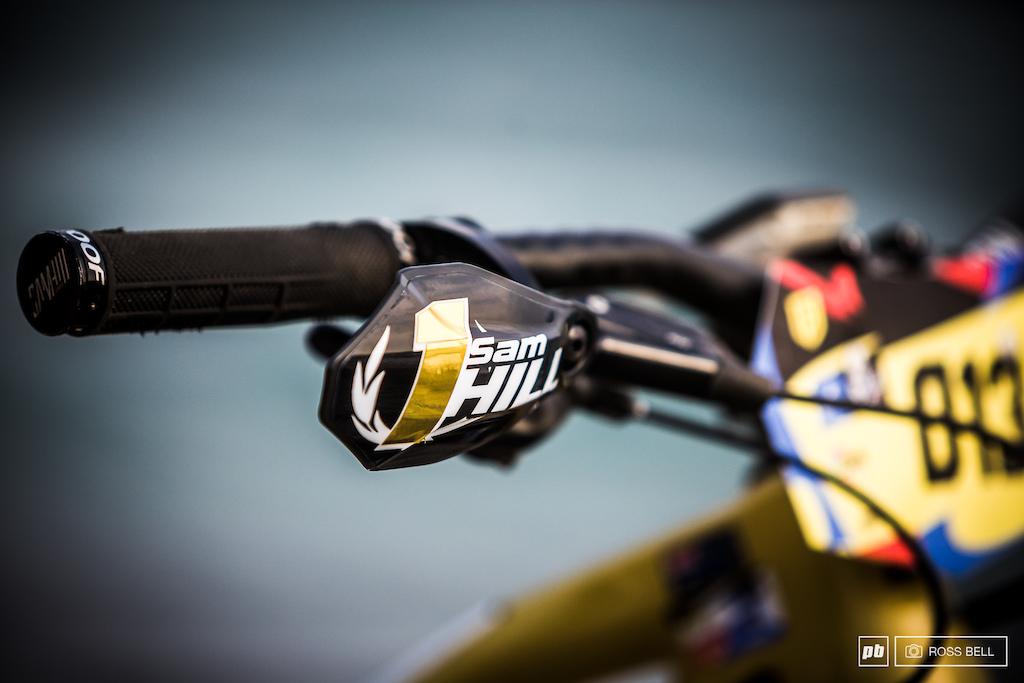 Sam Hill Overall Winning Bike