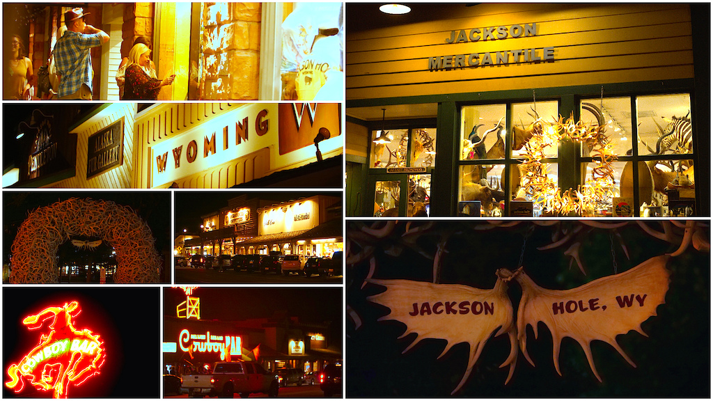 Jackson Hole night life.