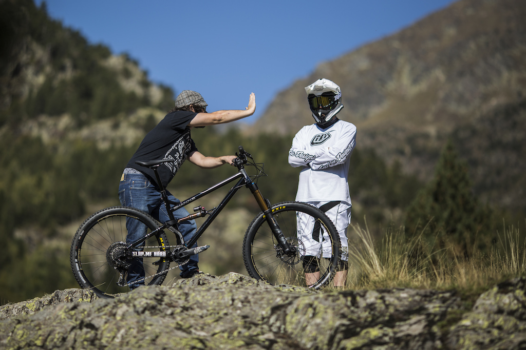The Stig rides the Shan n 5 in Andorra