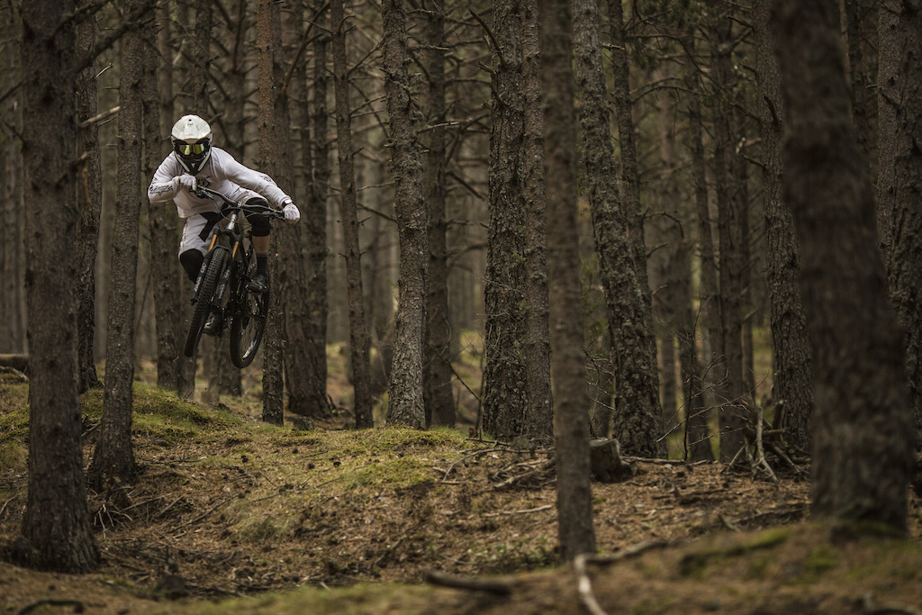 The Stig rides the Shan nº5 in Andorra