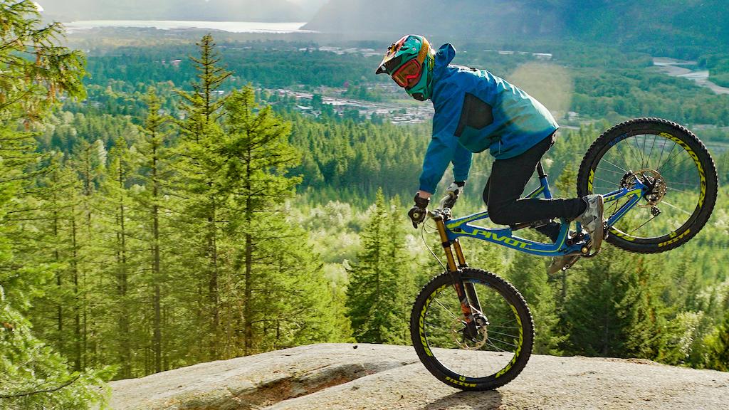 Bernard Kerr Stoppie in Squamish