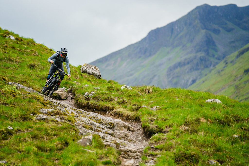 Rocky, steep and rainy, the perfect training grounds for EWS racing.