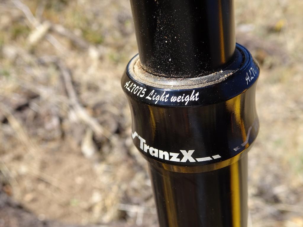 TranzX dropper seatpost