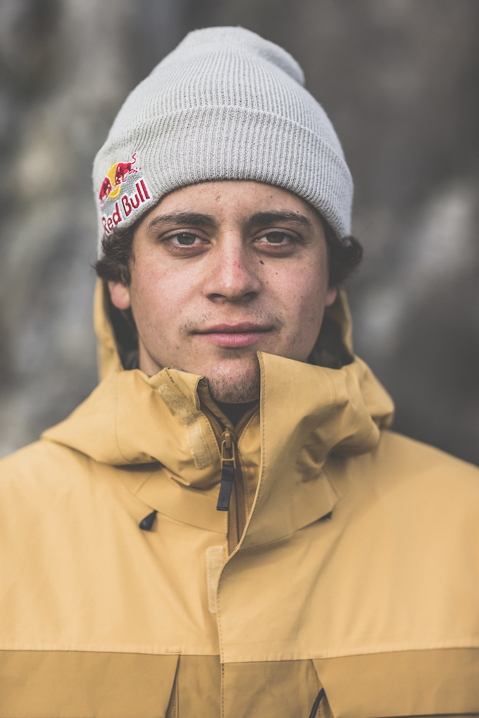 Carson Storch poses for a portrait in the Tatshenshini-Alsek Provincial Park in British Columbia Canada on September 7 2016.