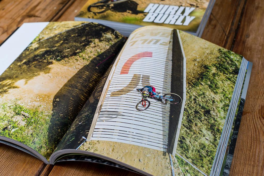 Hurly Burly Downhill Yearbook 2017.