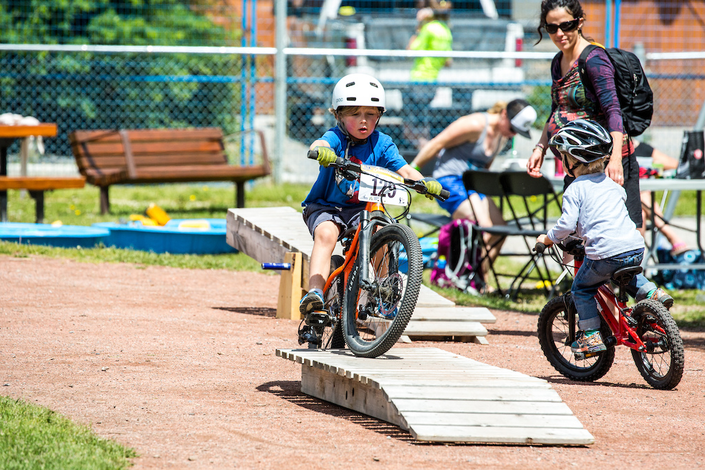 Thanks to B-Line Indoor Bike Park for sharing your features for our fest... the kids loved em