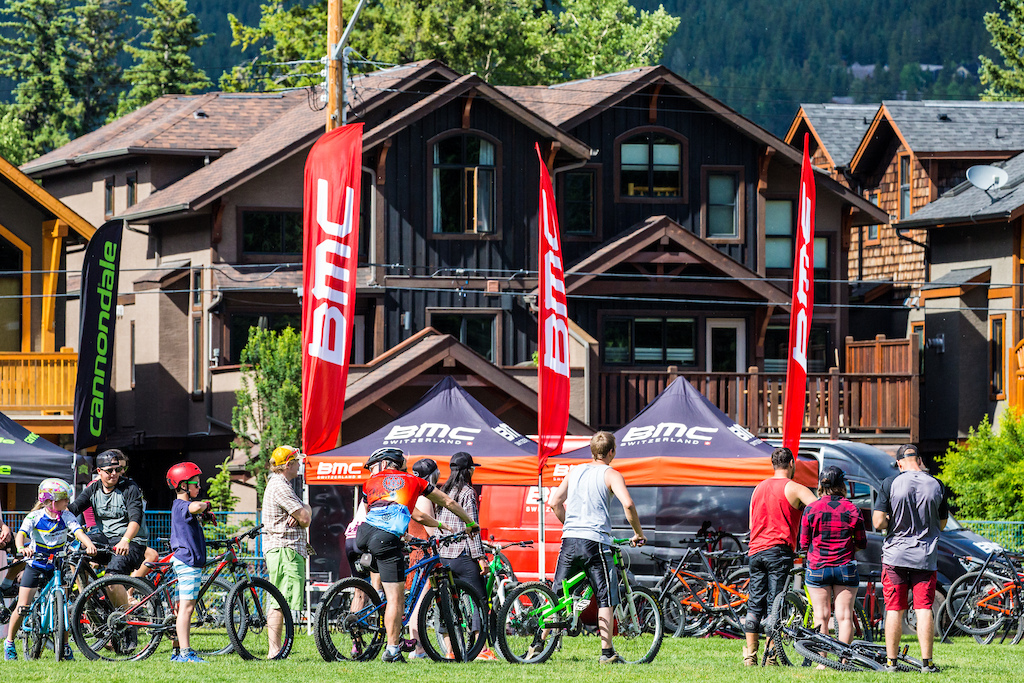 Plaid Goat s demo included RockyMountainBicycles COMMENCALbicycles pivotcycles BMC Specialized Cannondale ibiscycles Staran norcobicycles mavic Osprey Smith Julbo X92.9 FM Toyota Xact Nutrition Downunder Travel Silver Star Mountain Resort Mercedes Sprinter Gnome Homes Focus Sockology and so many more
