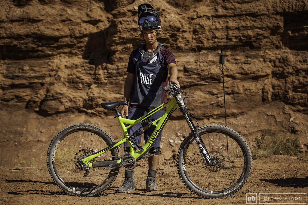 Red Bull Rampage 2017 Bikes