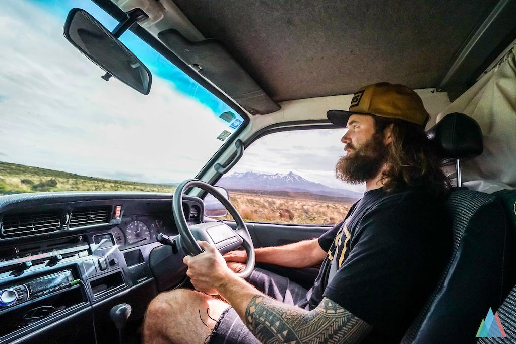 ben driving van