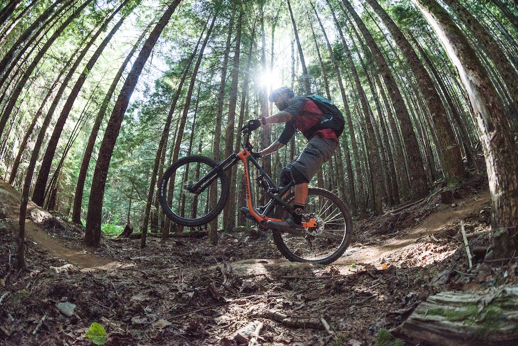 Gully Explores Route 16 with BC Bike Ride