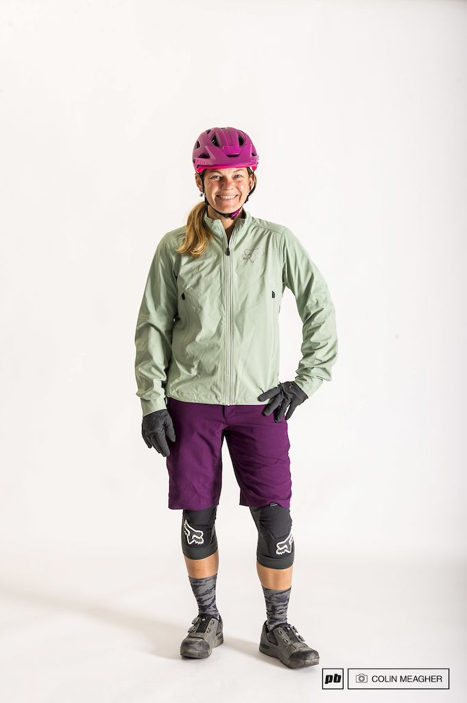 Fox Women s Ripley short and Attack Water Jacket