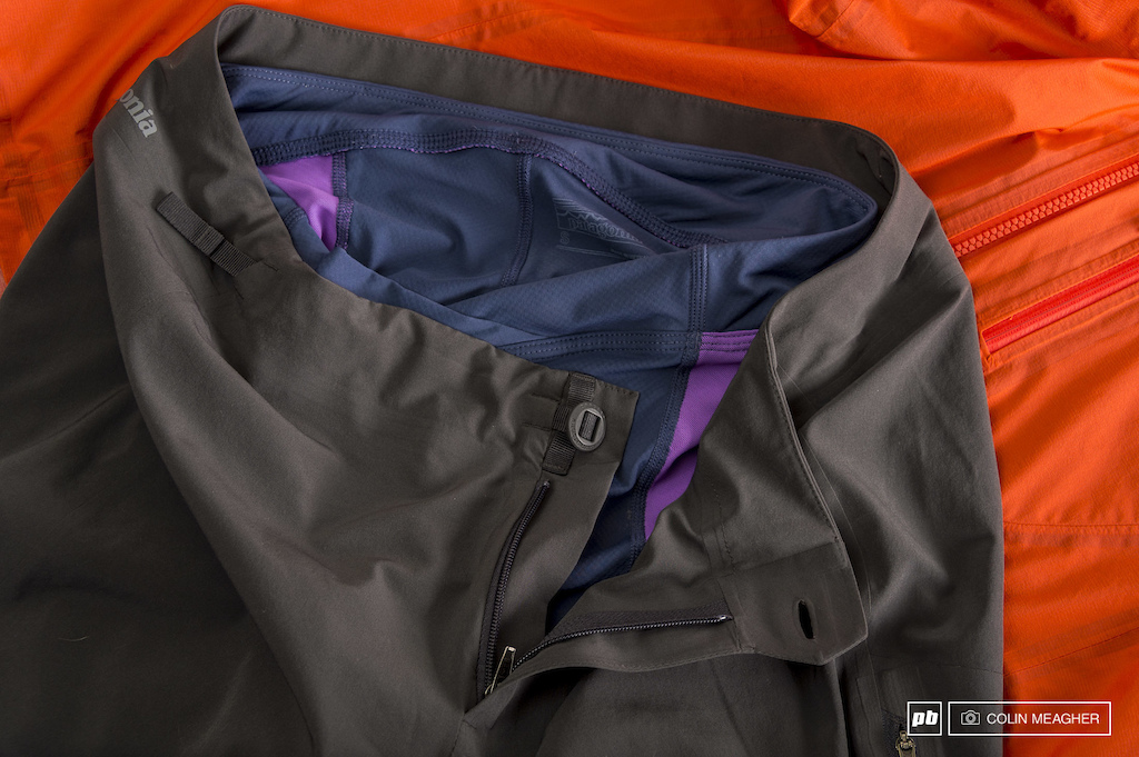 Patagonia Wmn s Storm Racer Jacket and Wmn s Dirt Roamer Shorts with Endless Ride Liner