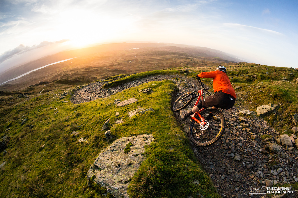 Switchbacks into the sunrise, does bike life get any better!?