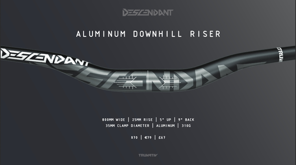 Truvativ Announces New Descendant 35mm Handlebars, Stem