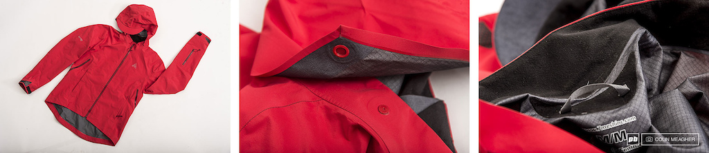 7 Mesh Women s Revelation shell with snap on hood and micro fleece at the chin for comfort.