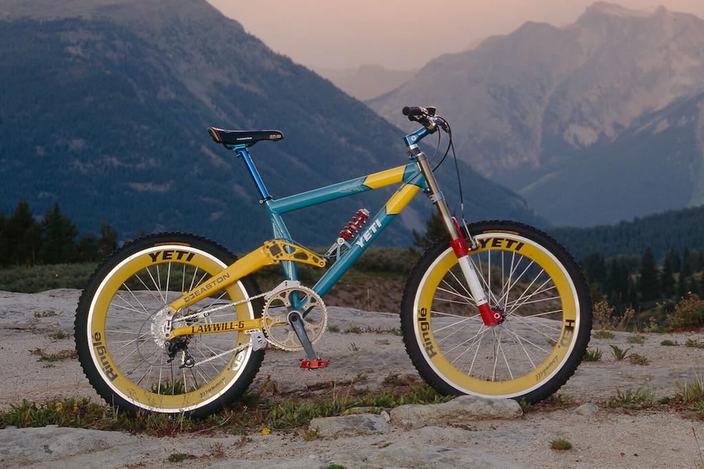 Yeti Lawwill 5 DH bike