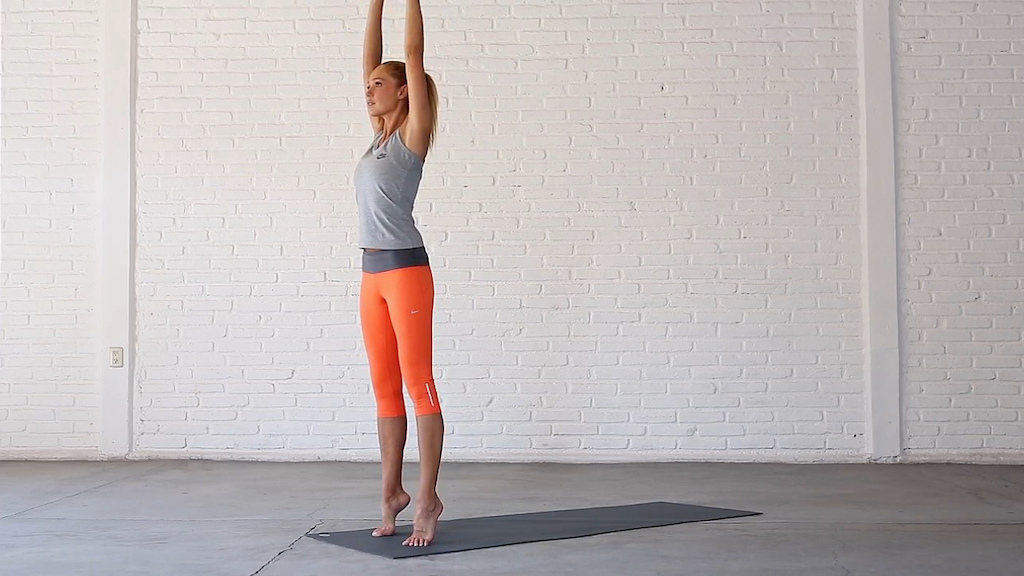 Yoga for ankle strength and stability.