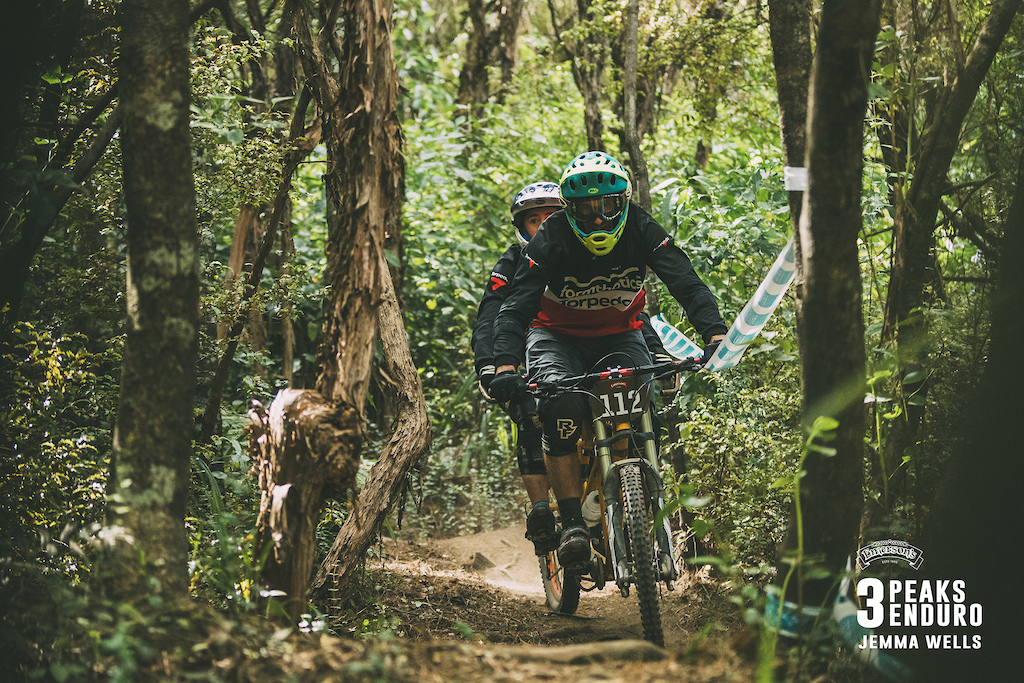 Jackson and Rose Green test all laws of physics and engineering as they complete yet another 3 Peaks Enduro on their home-built tandem MTB.