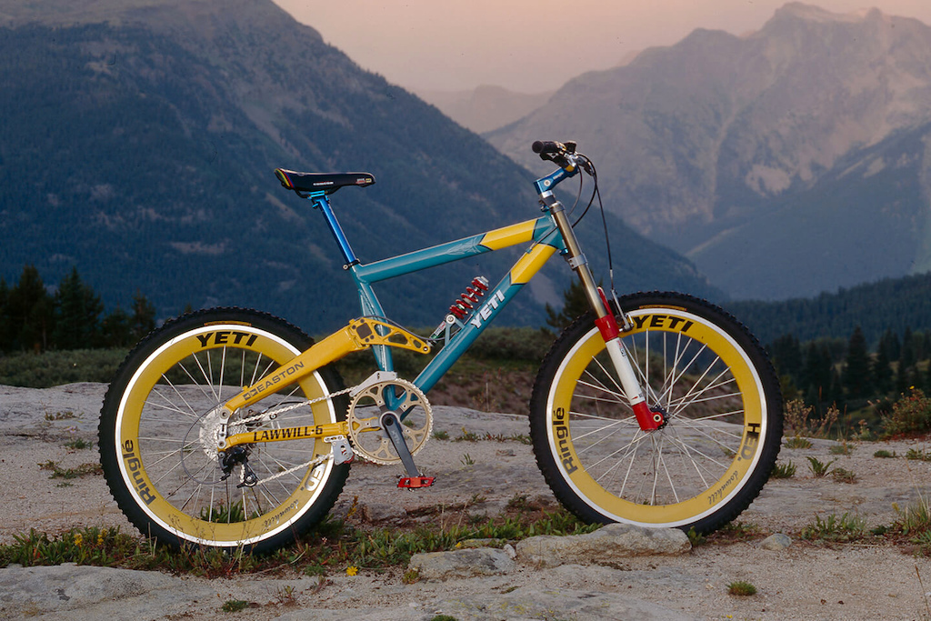 a091c709d Now THAT Was a Bike  Yeti Lawwill DH6 - Pinkbike
