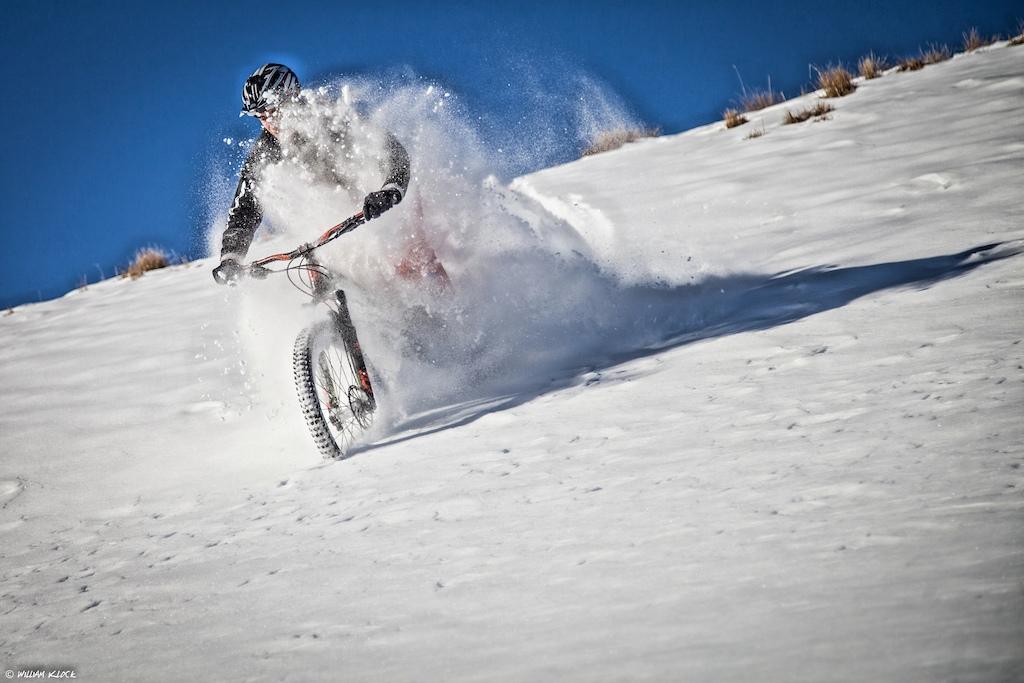 Deep snow session