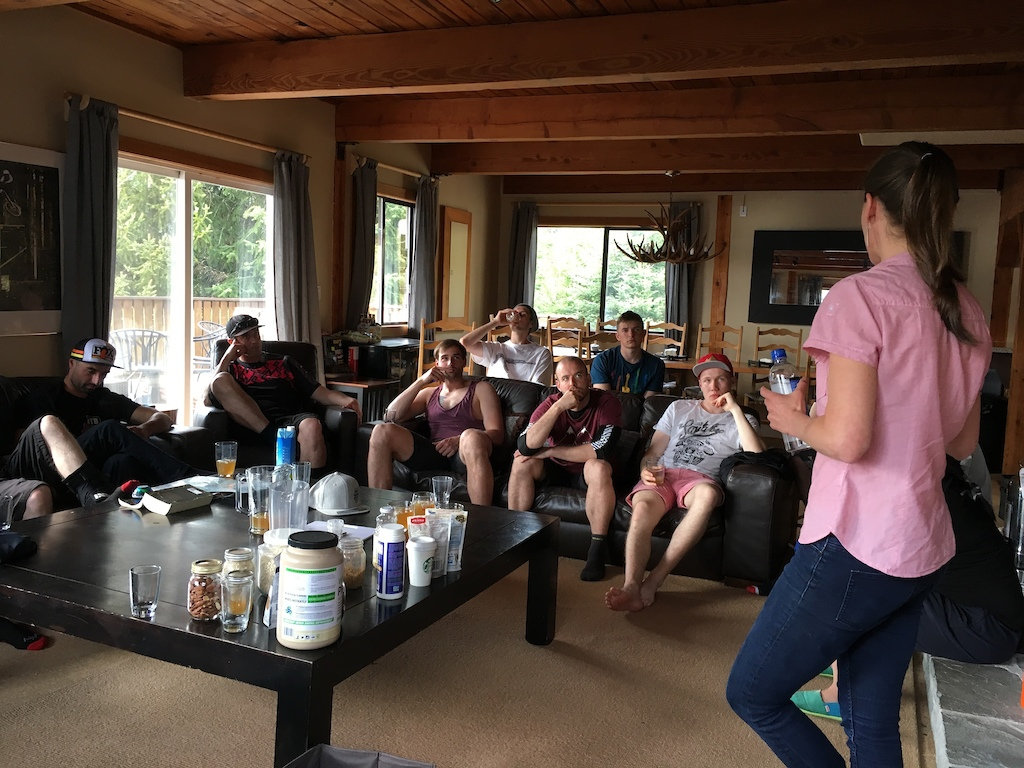 Nutrition Seminar with Origins Nutrition during the ZEP Instructor Training Camp