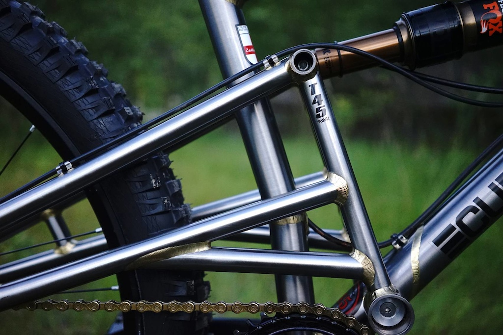 Curtis XR650 Full Sus 160mm T45 Steel Frame