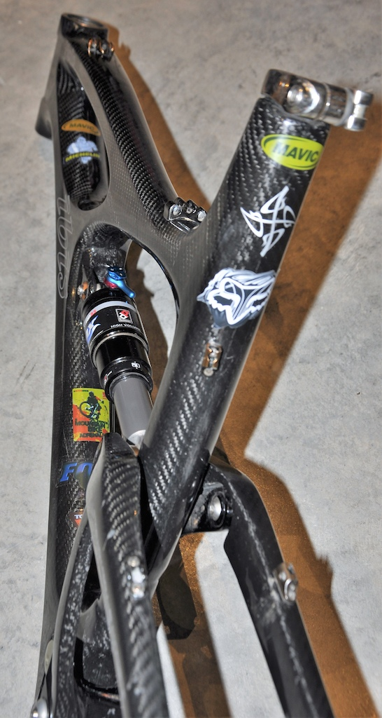 2008 Ibis Mojo Clear coat - Lopes - DW linkage