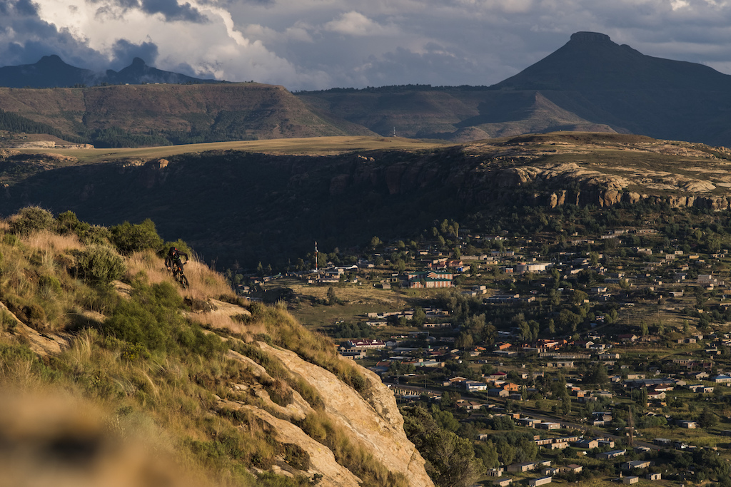 following the horsemen - 6 day traverse of Lesotho mountains
