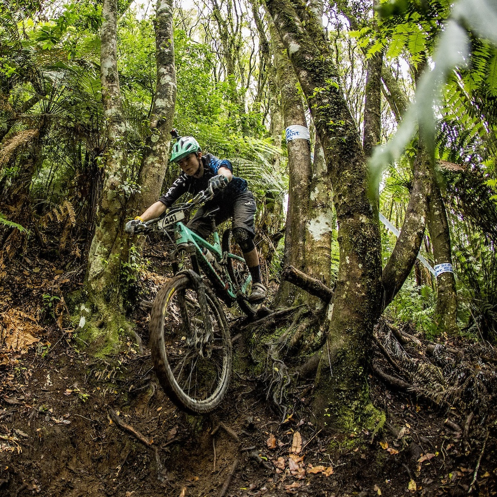 during the opening round of the 2017 EWS season in Rotorua New Zealand.