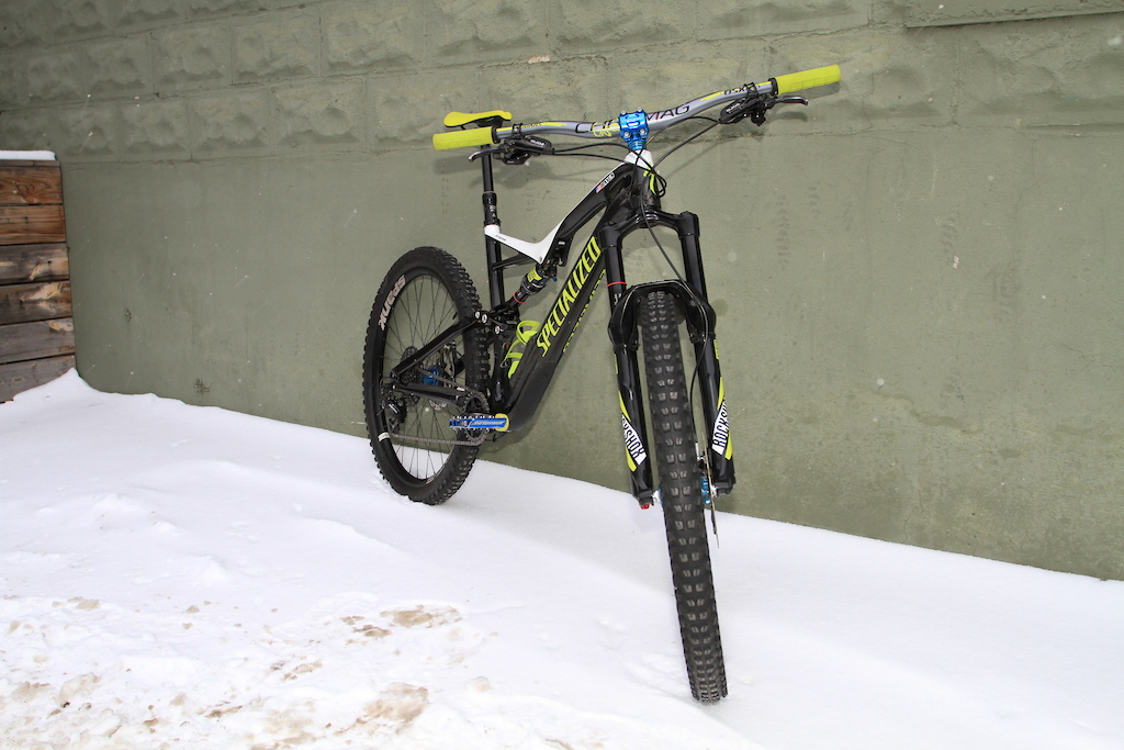 2017 Specialized Stumpjumper Expert Carbon 650B Upgrades
