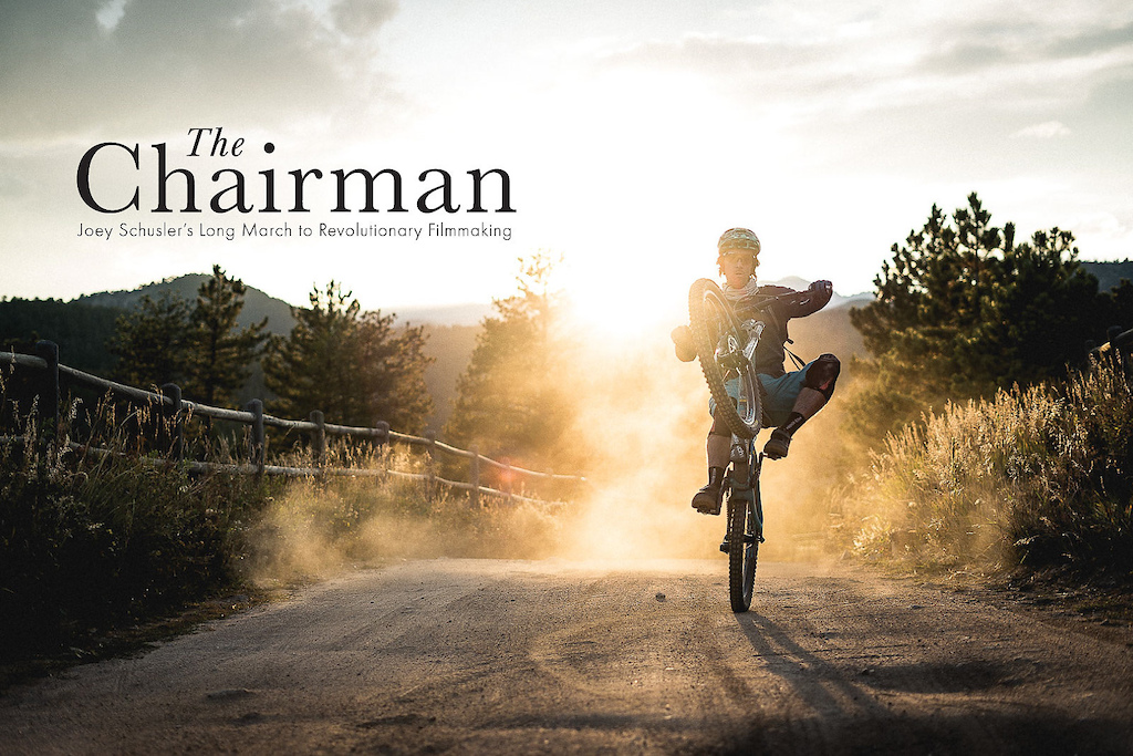 Opening spread from The Chairman as seen in Freehub Magazine Issue 8.4.