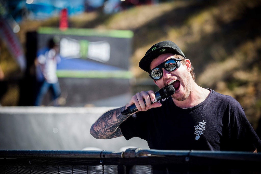 MC Tricky Nicky aka Captain Pugwash on the mic to bring you Skate BMX and FMX at the SA Bike Fest.