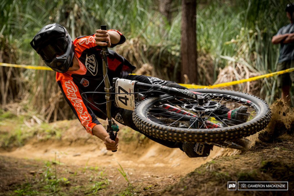 That moment when you run out berm and almost kill a photographer...