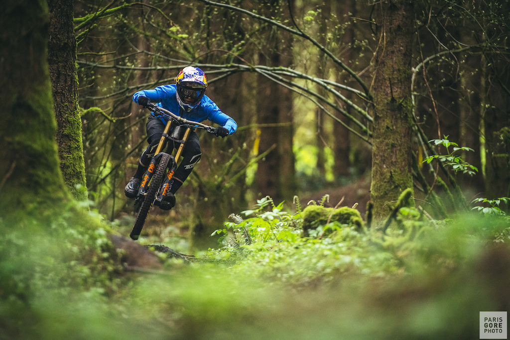 Jill Kintner in Bellingham, WA filming for Shimano's This is Home series.
