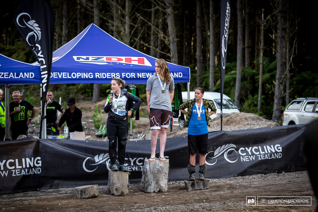 Elite Womens Podium