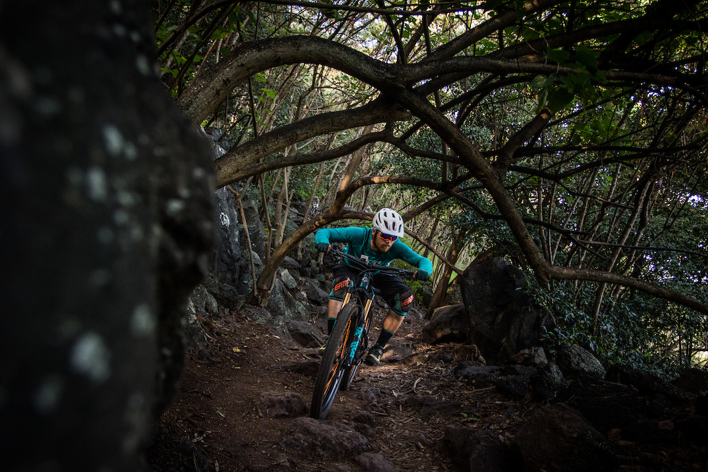 Blasting through pumice and ducking trees, the Kealia Trail demands respect