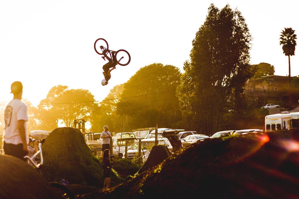 Cork Flip through the sunset