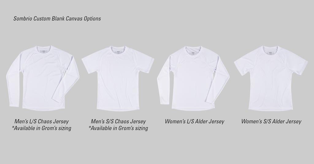 Sombrio Custom Jersey Styles