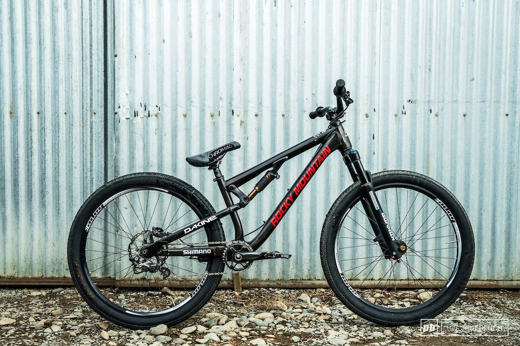Custom Rocky Mountain Slopestyle Frame Version 3 (Carsons been helping design)