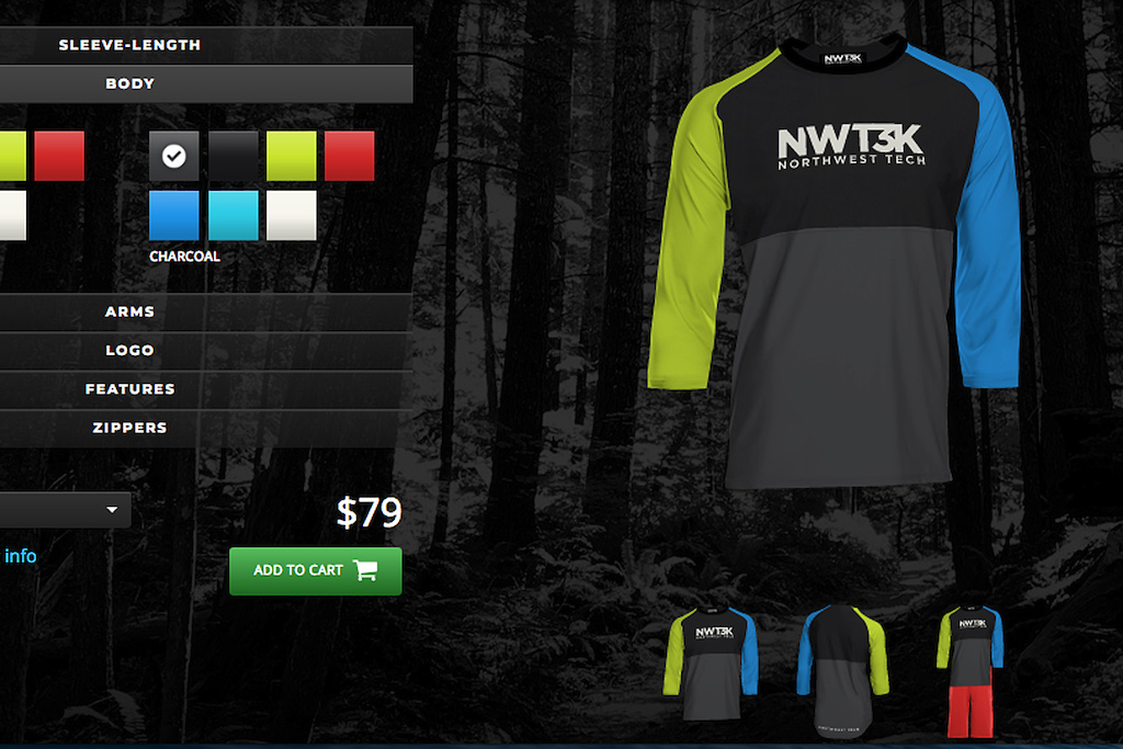 NWT3K jersey shorts custom