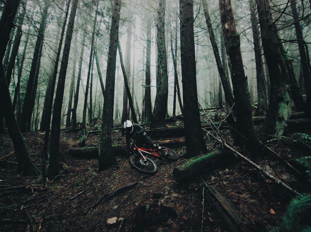 Riding Cypress Mountain