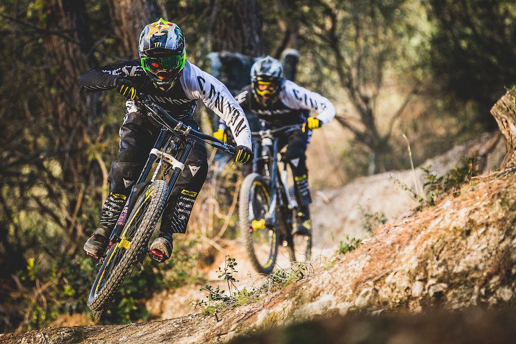 Canyon Factory Racing DH 2018 Roster Announcement Photo by Boris Beyer