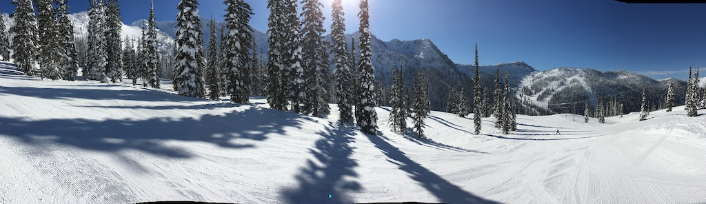 Bluebird day up at the hill. Lucky to be here.