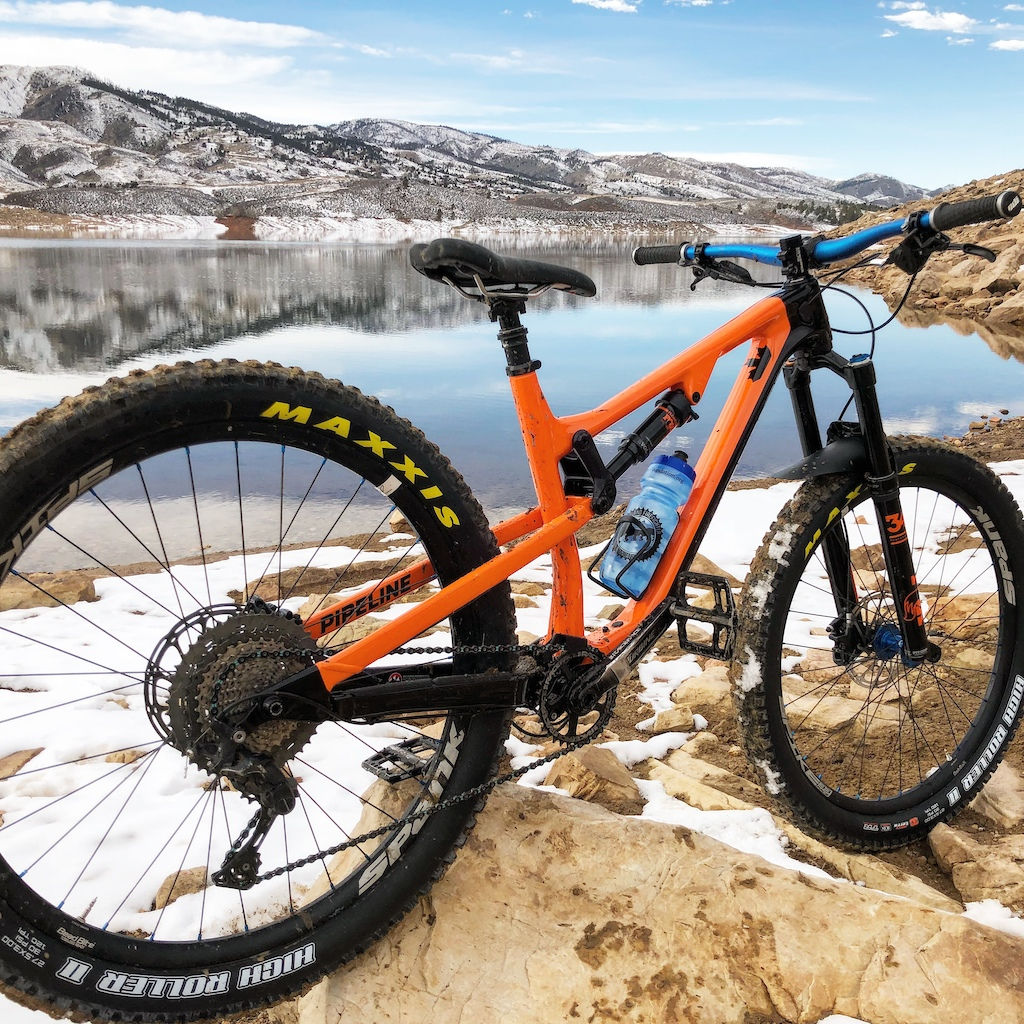 Rocky Mountain pipeline upgraded wheels tires and fork