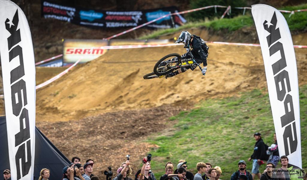 Tyler McCaul riding GT