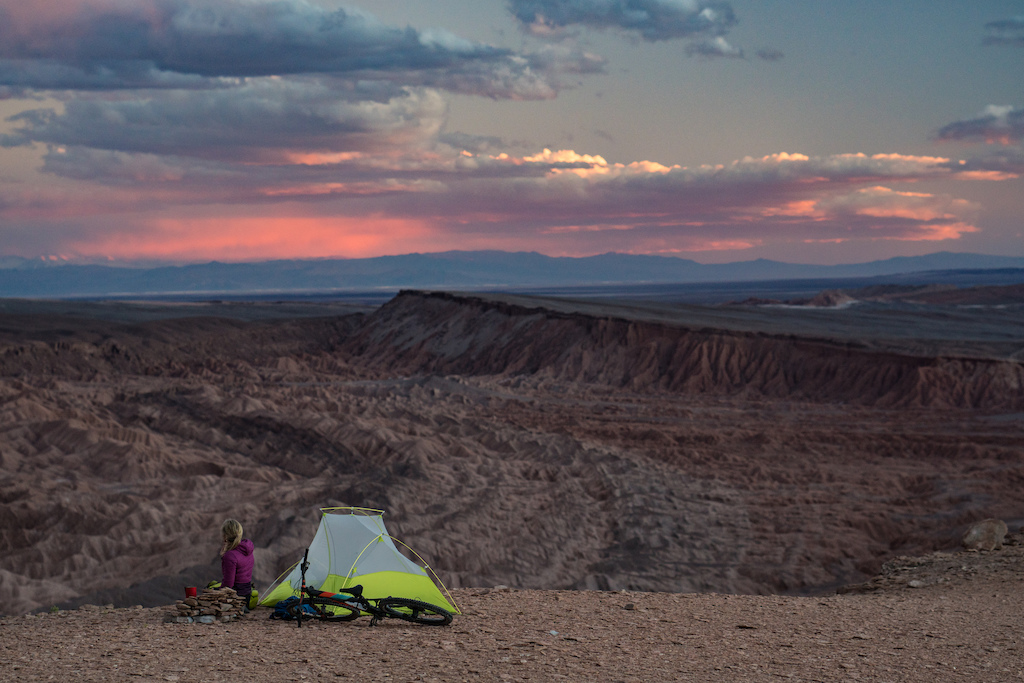 Lorraine Blancher in Beyond Trails Atacama A Film Presented by Osprey Packs