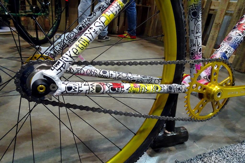 NAHBS 2018 Squid bikes